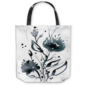 Unique Shoulder Bag Tote Bags   Kathy Stanion - Organic Impressions 117   flower watercolor