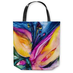 Unique Shoulder Bag Tote Bags | Kathy Stanion Soul Flower 36