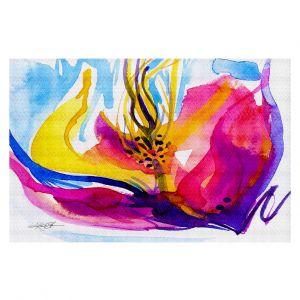 Decorative Floor Coverings | Kathy Stanion Soul Flower 52