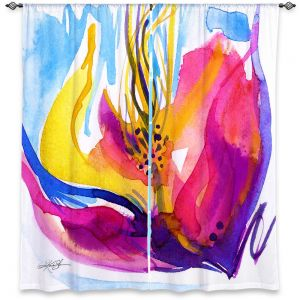 Decorative Window Treatments | Kathy Stanion Soul Flower 52