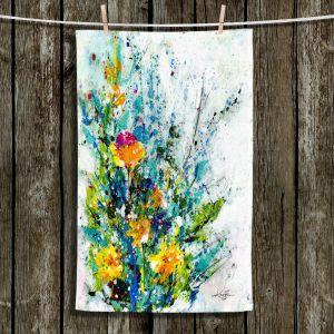 Unique Bathroom Towels   Kathy Stanion - Sweet Memories 2   flower still life