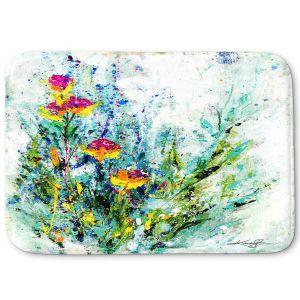 Decorative Bathroom Mats | Kathy Stanion - Sweet Memories 3 | flower still life