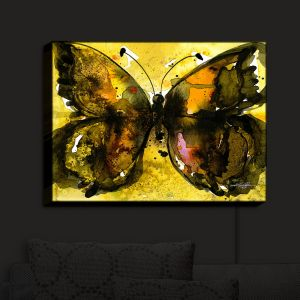 Nightlight Sconce Canvas Light | Kathy Stanion - Watercolor Butterfly 30 | insect bug nature