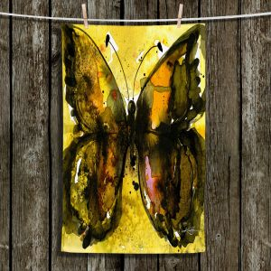 Unique Bathroom Towels | Kathy Stanion - Watercolor Butterfly 30 | insect bug nature