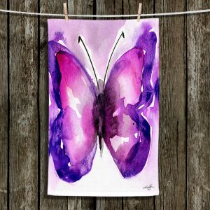 Unique Hanging Tea Towels | Kathy Stanion - Watercolor Butterfly 31 | insect bug nature
