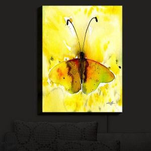 Nightlight Sconce Canvas Light | Kathy Stanion - Watercolor Butterfly 32 | insect bug nature