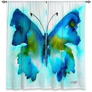 Decorative Window Treatments | Kathy Stanion - Watercolor Butterfly 34 | insect bug nature