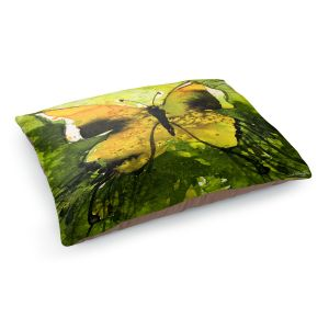 Decorative Dog Pet Beds | Kathy Stanion - Watercolor Butterfly 35 | insect bug nature