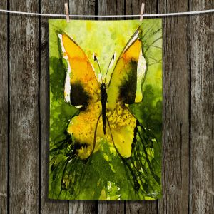 Unique Hanging Tea Towels | Kathy Stanion - Watercolor Butterfly 35 | insect bug nature