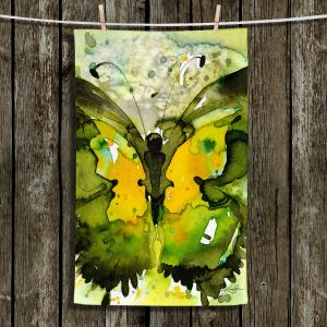 Unique Bathroom Towels | Kathy Stanion - Watercolor Butterfly 36 | insect bug nature