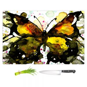 Artistic Kitchen Bar Cutting Boards   Kathy Stanion - Watercolor Butterfly 37   insect bug nature