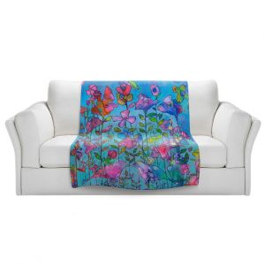 Artistic Sherpa Pile Blankets | Kim Ellery - Beautiful Thought