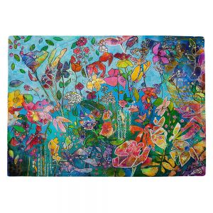 Countertop Place Mats   Kim Ellery - Diving In Flowers   floral pattern