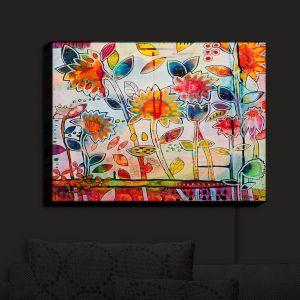 Nightlight Sconce Canvas Light | Kim Ellery - Dont Box Me In | flower still life pattern