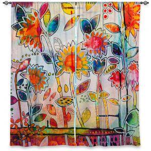 Decorative Window Treatments | Kim Ellery - Don't Box Me In | flower still life pattern
