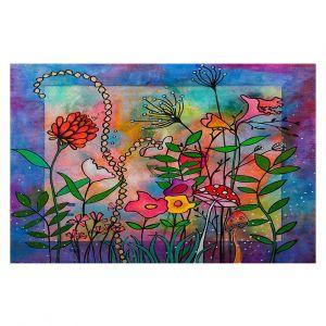 Decorative Floor Covering Mats   Kim Ellery - Enchantment   frame flower