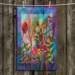 Unique Bathroom Towels | Kim Ellery - Enchantment | frame flower