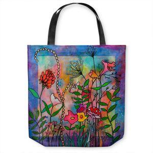 Unique Shoulder Bag Tote Bags | Kim Ellery - Enchantment | frame flower
