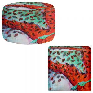 Round and Square Ottoman Foot Stools   Kim Ellery - Eternal Love