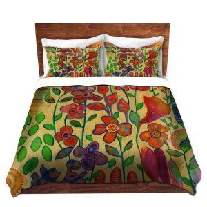 Artistic Duvet Covers and Shams Bedding | Kim Ellery - Golden Days
