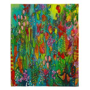 Decorative Fleece Throw Blankets   Kim Ellery - Happy Place