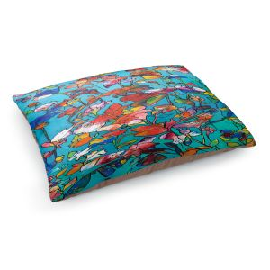 Decorative Dog Pet Beds | Kim Ellery - I Found Love | Abstract Flowers