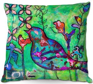 Decorative Outdoor Patio Pillow Cushion | Kim Ellery - In Love With You