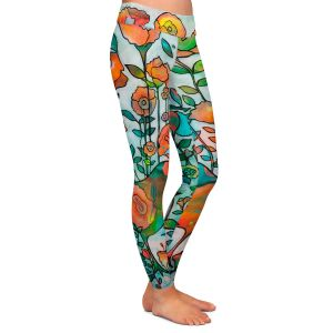 Casual Comfortable Leggings   Kim Ellery - Loved 2   flower pattern