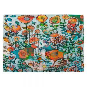 Countertop Place Mats | Kim Ellery - Loved 2 | flower pattern