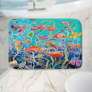 Decorative Bathroom Mats | Kim Ellery - Only Imagine | Flowers Garden