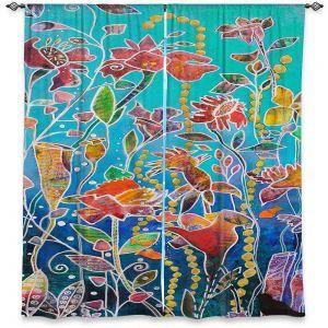 Decorative Window Treatments | Kim Ellery - Only Imagine | Flowers Garden