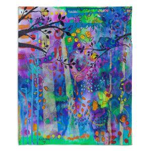 Decorative Fleece Throw Blankets | Kim Ellery - Rays Of Light