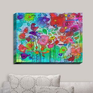 Decorative Canvas Wall Art | Kim Ellery - Waiting For Spring | Flowers Gardens Colorful Nature
