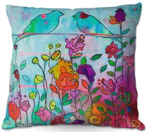 Throw Pillows Decorative Artistic | Kim Ellery - Wired Together