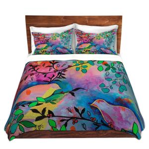 Artistic Duvet Covers and Shams Bedding | Kim Ellery - You Found Me