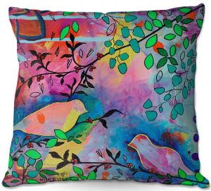 Decorative Outdoor Patio Pillow Cushion | Kim Ellery - You Found Me