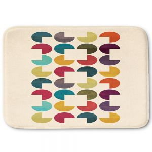 Decorative Bathroom Mats | Kim Hubball - Geo Circles