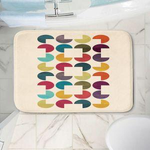 Decorative Bathroom Mats | Kim Hubball - Geo Circles