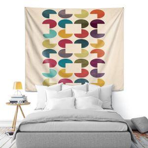 Artistic Wall Tapestry | Kim Hubball - Geo Circles