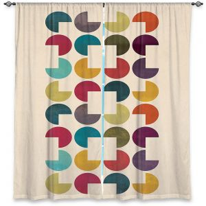 Decorative Window Treatments | Kim Hubball - Geo Circles