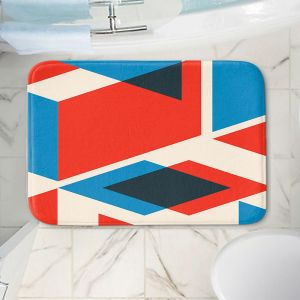 Decorative Bathroom Mats | Kim Hubball - Geo Fragment