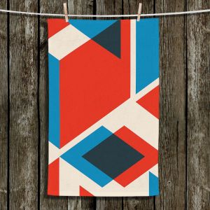 Unique Hanging Tea Towels | Kim Hubball - Geo Fragment | Pattern