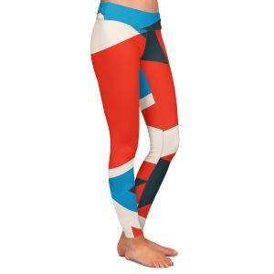 Casual Comfortable Leggings | Kim Hubball - Geo Fragment