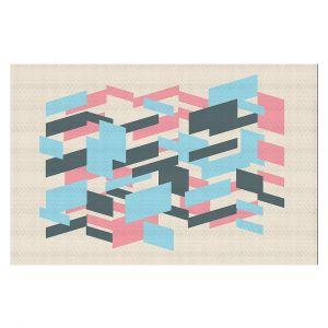 Decorative Floor Coverings | Kim Hubball - Geo Overlap