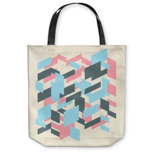 Unique Shoulder Bag Tote Bags |Kim Hubball - Geo Overlap
