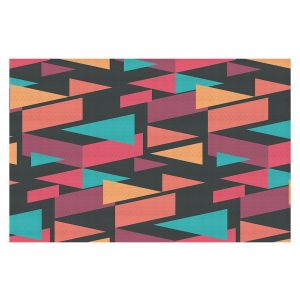 Decorative Floor Coverings | Kim Hubball - Geotriangles 1 | Geometric Pattern Triangles