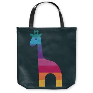Unique Shoulder Bag Tote Bags  Kim Hubball - Giraffe Nursery