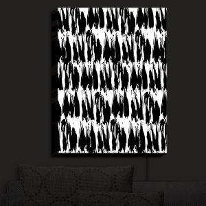 Nightlight Sconce Canvas Light | Kim Hubball - Ink Strokes 1