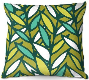 Throw Pillows Decorative Artistic | Kim Hubball - Leaves