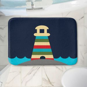 Decorative Bathroom Mats | Kim Hubball - Lighthouse Nursery